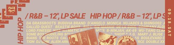《 9/18 (土)【HIP HOP / R&B – 12″, LP 】- 店頭セール 》