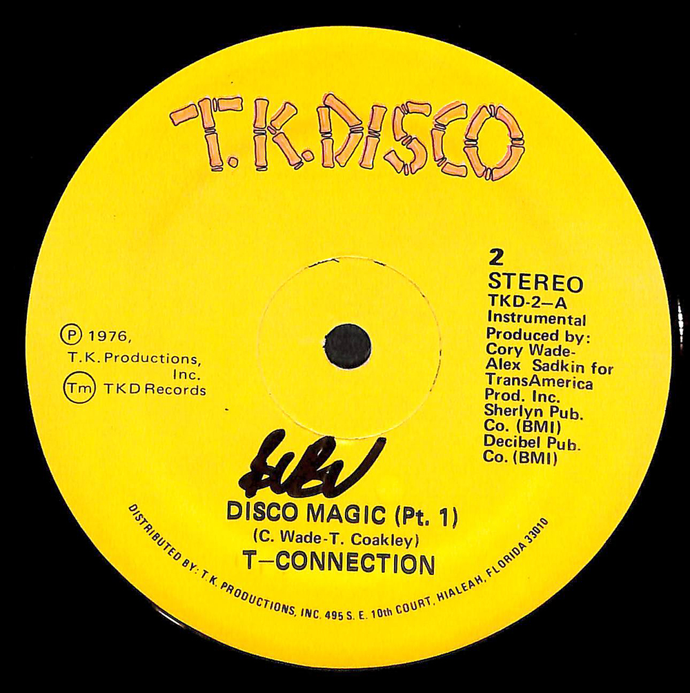 T-CONNECTION / DISCO MAGIC (T K DISCO TKD-2) - Vinyl Records at FACE
